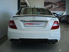 2013 Mercedes-Benz C63 AMG Perf Pack - Rear