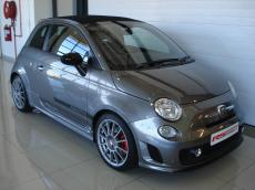2012 Abarth 500 Convertible esseesse - Front 3/4