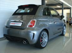2012 Abarth 500 Convertible esseesse - Rear 3/4