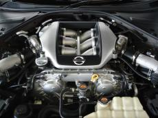 2010 Nissan GT-R Black Edition - Engine