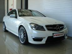 2012 Mercedes C63 AMG Coupe Perf Pack