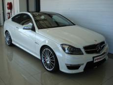 2012 Mercedes C63 AMG Coupe Perf Pack - Front 3/4