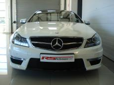 2012 Mercedes C63 AMG Coupe Perf Pack - Front