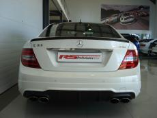 2012 Mercedes C63 AMG Coupe Perf Pack - Rear