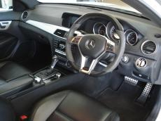 2012 Mercedes C63 AMG Coupe Perf Pack - Interior