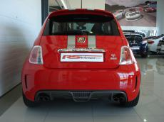 2012 Abarth 695 Tributo Ferrari - Rear