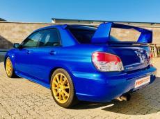 2007 Subaru Impreza WRX STI - Rear 3/4
